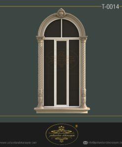 Poliüretan Yuvarlak Pencere söve modelleri T0014